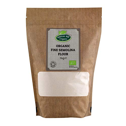 Organic Fine Semolina Flour 1kg de Hatton Hill Organic