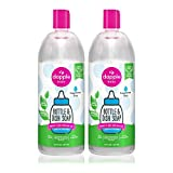 Dapple Baby Bottle and Dish Liquid Refill 30 Fl Oz (Pack of 2) Fragrance Free 60.0 Ounce