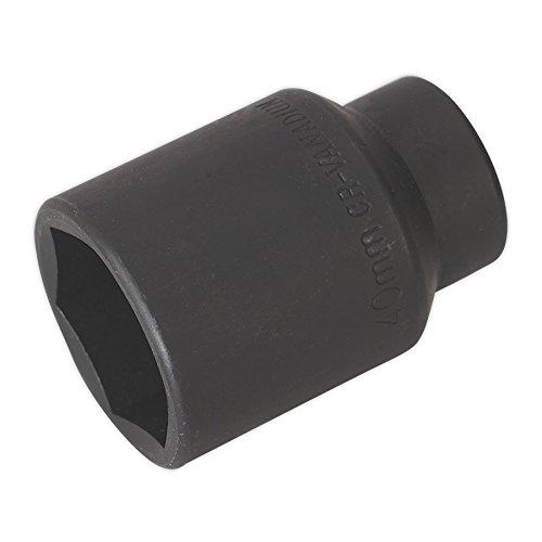 Sealey SX009 - Llave de vaso de impacto (1,27 cm, 40 mm), color negro