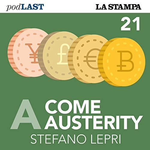Valore (A come Austerity 21) copertina