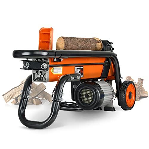 SuperHandy Log Splitter Electric Portable 6 Ton...