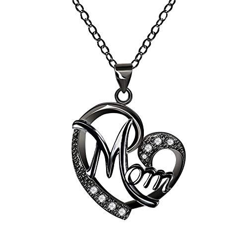 Elegant Herz Halskette Muttertag Geschenk Feine