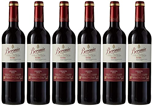 Beronia Crianza Vino D.O.Ca. Rioja - 6 Botellas de 750 ml - Total: 4500 ml