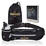 MyMAIZBody Running Belt – Water Bottle, Carry Bag and Running 101 Instructions –
