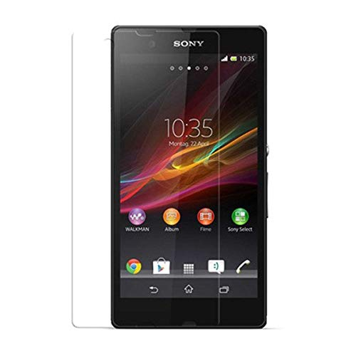 Unbreakable Screen Protector for Sony Xperia ZL (Far Better Than Tempered Glass) with Impossible Anti Shock and Hammer Proof Protection