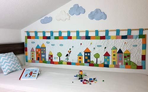 Wandbehang für das Kinderbett Gross (Mädchen)