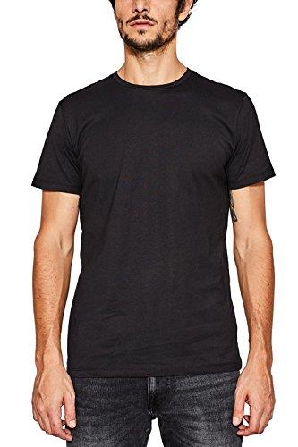 ESPRIT Herren 997EE2K819 T-Shirt, Schwarz (Black 001), M