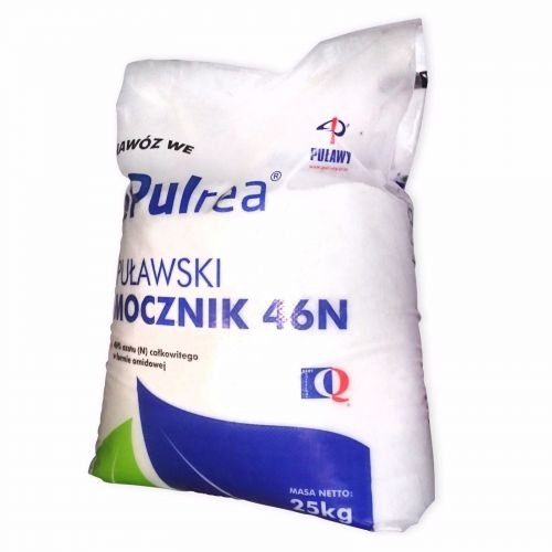 PULrea DÜNGEHARNSTOFF 25 kg Harnstoffdünger Harnstoff 46% N Stickstoff Gartendünger