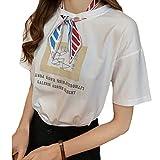 フィオナマックール スカーフ付きTシャツ スカーフTシャツ スカーフ Tシャツ 半袖 半袖Tシャツ Tシャツレディース Tシャツ春 薄手 トップス カットソー ロンT ロゴT プリントTシャツ クルーネック 韓国風Tシャツ ゆったり 綿 綿100 大きいサイズ 大きい 大きめ きれいめ 韓国風 韓国 韓国ファッション おしゃれ 可愛い uネック Uネック 春 夏 レディース 白 2XL