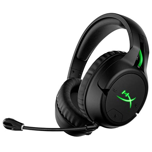 HyperX CloudX Flight – Wireless Gaming Headset, Official Xbox Licensed for Xbox One, Game and Chat Mixer, Memory Foam Ear Cushions, Detachable Noise-Cancellation Microphone (Renewed)
