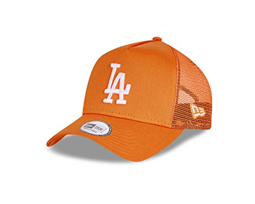 New Era Los Angeles Dodgers Cap Trucker Kappe Tonal Mesh Basecap MLB Baseball Orange - One-Size