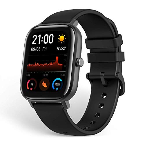 Amazfit, Smartwatch Fitness Tracker with Built-in GPS, 5ATM Waterproof, Heart...
