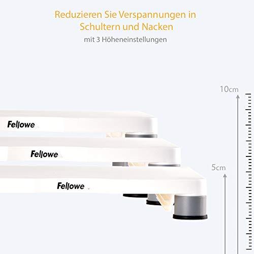 Fellowes Standard Monitor Ständer bis 53,3 cm (21 Zoll) platin