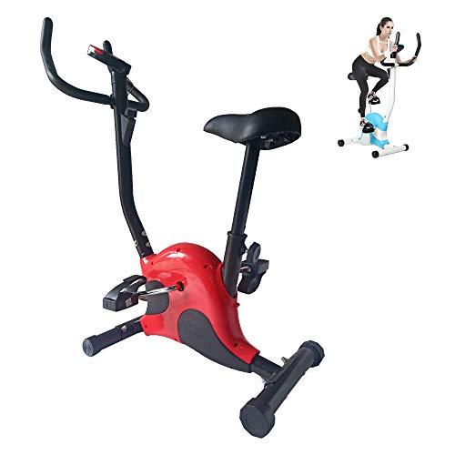 Yoaa Bicicleta de Spinning Interior Gym Fitness Master Gym Bicicleta de Ejercicio con Pantalla Bicicleta de Ejercicio de Resistencia Ajustable Bicicleta de hogar Bicicleta estacionaria