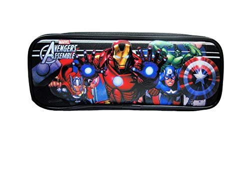 Marvel Avengers Black Pencil Case