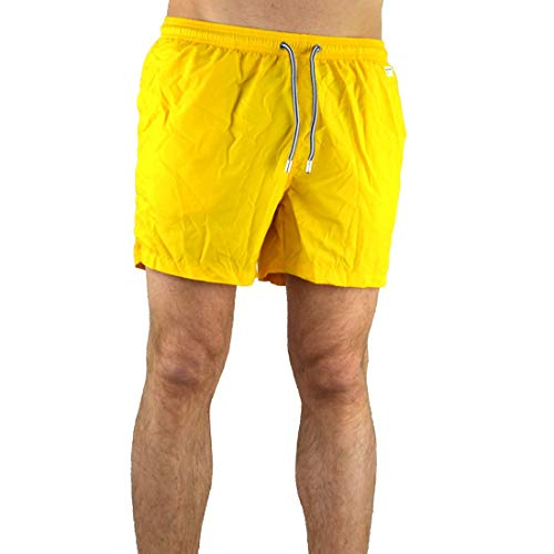 MC2 Saint Barth Luxury Fashion Herren LIGHTINGPANTONE91 Gelb Polyester Badeboxer | Ss21