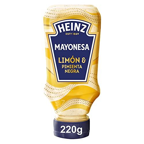 Heinz Citroen & Peper Mayonaise , Voor het Op smaak brengen van de lekkerste Gerechten 240 g