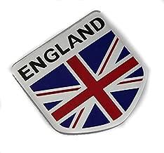 3D Metal British flag Auto Car Side Fender Rear Trunk Emblem Sticker Badge Decals