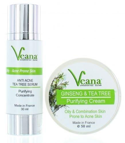 Anti Akne Serum + Feuchtigkeitscreme Akne Creme, Anti Pickel Creme, Akne Entferner Creme, reduziert Mitesser, Pickel Anti Akne Serum regeneriert die Haut