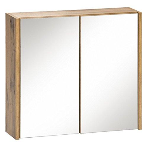 Jadella spiegelkast 'Alessia S60' badkamerspiegel spiegel spiegel 60cm decor eiken Wotan