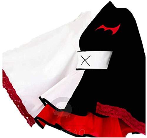 Uniforme Scolastica Giapponese Danganronpa Donna Uniforme Scolastica Giapponese Costume Marinara Camicia da Marina a Manica Lunga/Gonna Pieghe per Carnevale Natale Festa