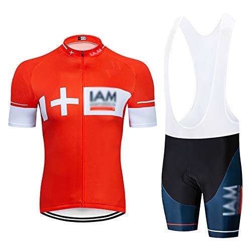 ZGRNB Jersey de Ciclismo Ropa Ligera de Bicicleta de montaña para Hombre Camisetas de Manga Larga para Correr Deportes al Aire Libre
