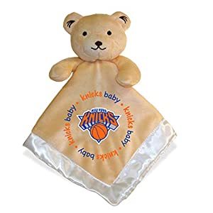 Embroidered Knicks Baby Security Blanket