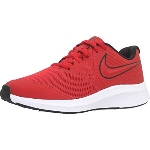 Nike Star Runner 2 Traillaufschuhe, Rot (University Red/Black-Volt 600), 39 EU