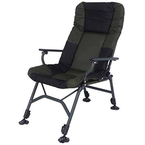 Silla de jardín, silla plegable ajustable, silla de camping, silla de pesca, silla de camping, silla de playa, silla de camping plegable