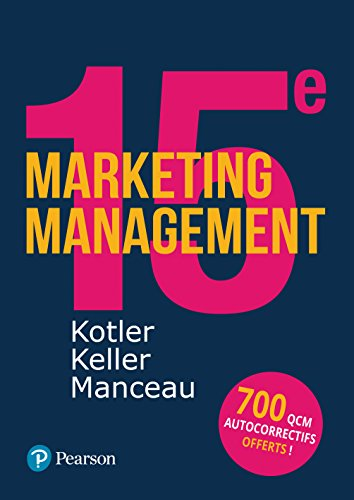 Marketing Management 15e édition + Quiz