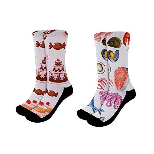 chaqlin - Calcetines japoneses para correr, deporte, yoga, fresco y seco, cómodo, paquete de 3 tallas S