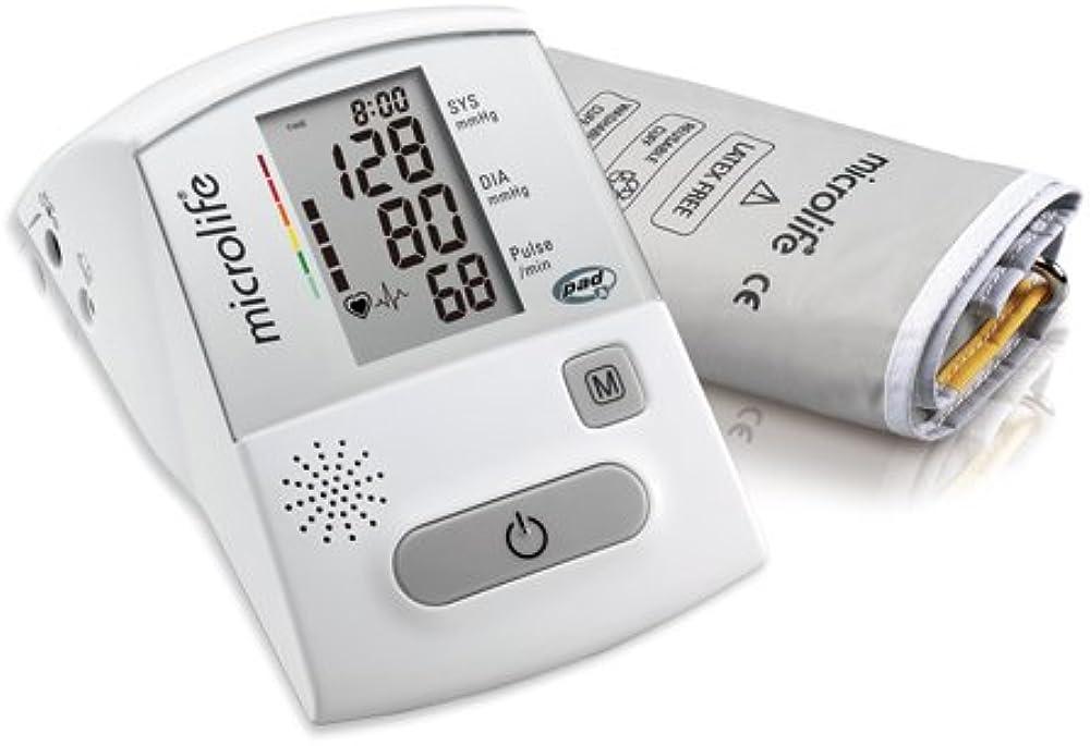 Microlife bp a130,sfigmomanometro,misuratore pressione sanguigna, per braccio parlante 4719003313098
