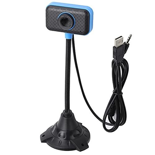 Cámara USB, Audio estéreo Tipo de Soporte Cámara Web de Alta definición para Grabar y Tomar fotografías Creación de Videos