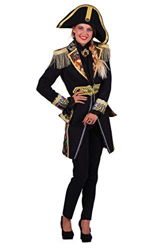 Thetru Damen Kostüm Admiral Jacke Uniform Karneval Fasching Gr.XL