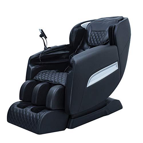 Floating Thai Estirar Cero Gravedad Diseño Silla de masaje eléctrico con altavoz de alta fidelidad Bluetooth, masaje multidimensional de airbag para silla de masaje de cuerpo completo, lujoso,E