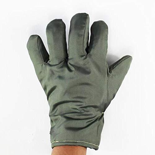 XYHX Hochtemperaturbeständige Handschuhe 300 Grad Reinraum Werkstatt Hochtemperaturbeständige Isolierhandschuhe 26cm