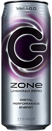 Zone Unlimited Zero Ver.1.0.0 エナジードリンク 500ml ×24本