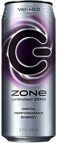 Zone Unlimited Zero Ver.1.0.0 エナジードリンク 500ml ×24本