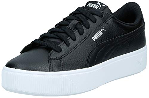 PUMA Damen Vikky Stacked L Zapatillas, Schwarz Black Black, 39 EU