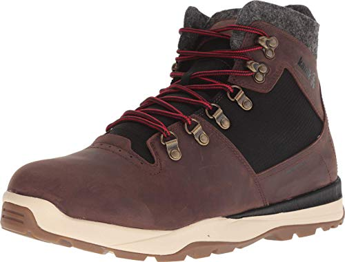 Kamik Men's Velox Lace Up Waterproof Winter Boot Dark Brown 11 Medium US