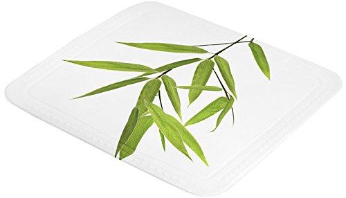 Kleine Wolke 5380600002 Duscheinlage Bamboo, 55 x 55 cm, grün