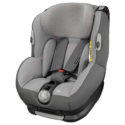Bébé Confort Opal, Siège Auto Réglable Dos à la Route et Évolutif de Groupe 0+/1, de 0 à 4 ans, 0-18 kg, Concrete Grey