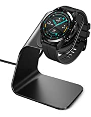 CAVN oplader Compatibel met Huawei Watch GT/Honor Magic Watch laadstation (130 cm/4,2 ft) vervanging USB aluminium laadkabel snellader lader dock voor GT Classic/Active/Elegant/Magic Watch