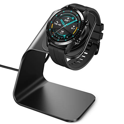 CAVN Cargador Compatible con Huawei Watch GT2/GT 2e /GT (No para GT 2 Pro), Charger Stand Station Cradle Charging Cable Charging Dock Compatible para Honor Watch GS Pro/Magic 2