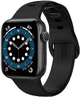 Spigen Compatible for Apple Watch Series 6/SE/5/4/3/2/1 Strap Silicone Fit - Black Variation