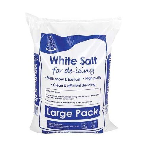 White De-icing Rock Salt 25Kg Bag: Amazon co uk: Kitchen & Home