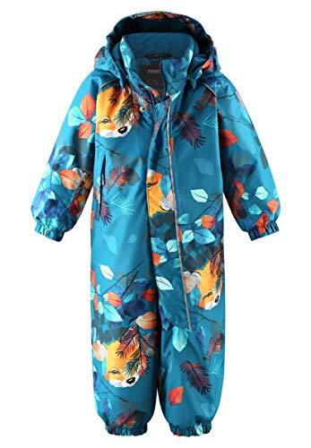Reima Langnes Winter Overall Kleinkind Dark sea Blue Kindergröße 92 2020