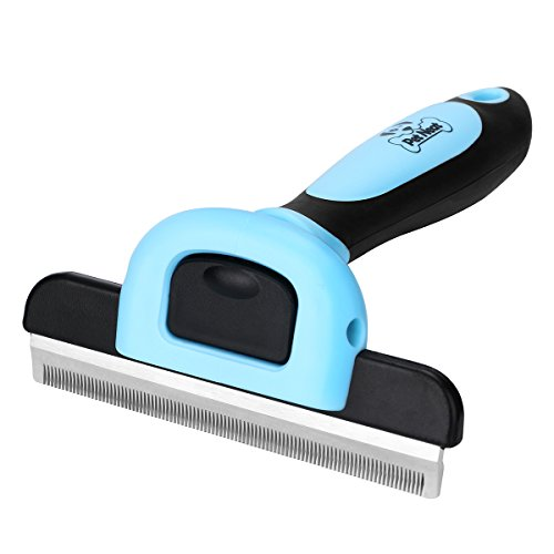 Pet Grooming Brush Effectively Reduces Shedding by...