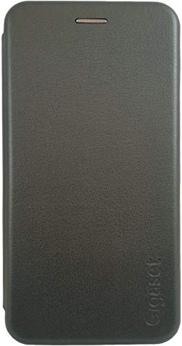 Gigaset Funda Tipo Libro para GS290 – Accesorios Originales para Evitar daños, antiarañazos, Carcasa Completa – 360 ° de protección Completa, Gris Titanio