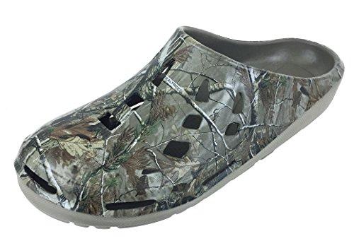 Men's Camouflage Realtree Clog Slip-on Shoe, 11 D(M) US
